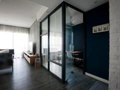Industrial Scandinavian Family Room Study Room@Five Stones Petaling Jaya Selangor