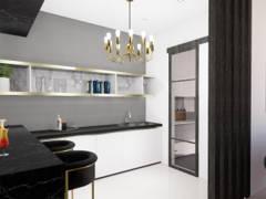 Modern Kitchen@TROPICANA AMAN, KOTA KEMUNING