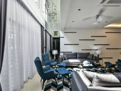 Contemporary Modern Foyer Living Room@< Metamorphose Magic > @ TTDI