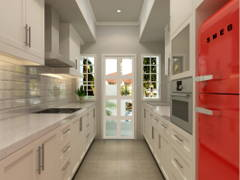 Contemporary Country Kitchen@Project Kiara