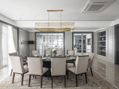 Classic Modern Dining Room@The White Mansion, Ampang Jaya