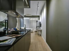 Contemporary Modern Foyer Kitchen@The Suites Show Unit