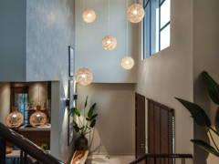 Modern Rustic Foyer@Bungalow Villa Mayuri