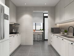 Classic Modern Kitchen@Minimal Modern Classic Abode - The Upton, Eco Summer.