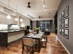 Contemporary Dining Room@MASCULINE