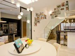 Minimalistic Modern Dining Room Kitchen@Mont Kiara Semi-D