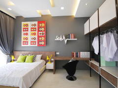 Retro Modern Bedroom@Ipoh South Precinct Show Unit
