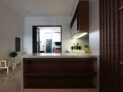 Contemporary Modern Kitchen@Tebrau 9F Residence