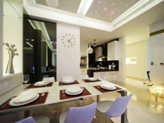 Contemporary Modern Dining Room@Ter Condo