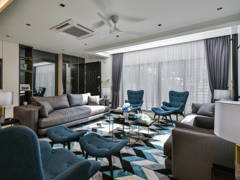 Contemporary Modern Living Room@< Metamorphose Magic > @ TTDI