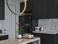 Contemporary Modern Kitchen@Sunway Mont Condo