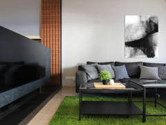 Contemporary Modern Living Room@Tebrau 9F Residence