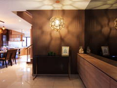 Contemporary Modern Foyer@Glomac - Show House