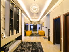 Contemporary Modern Foyer@Modern Luxury Bungalow at Pekan, Pahang
