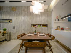 Industrial Modern Dining Room@Seringin Residences @ Happy Garden