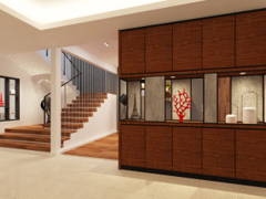 Contemporary Modern Foyer@Semi-D, Sibu