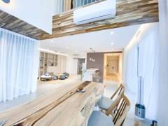 Asian Minimalistic Dining Room Kitchen@Armanee Terrace - Bu Bu's House