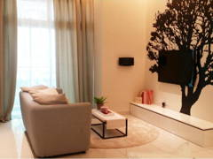 Minimalistic Living Room@Adda Heights Show Unit (1A)