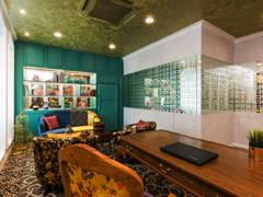Vintage Office@EASTERN ECLECTIC DESIGN CONCEPT