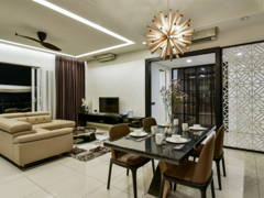 Living Room Dining Room@Seringin Residences