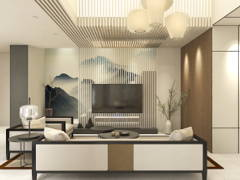 Minimalistic Zen Living Room@The Way Of Zen @ Diantha, Setia Alam