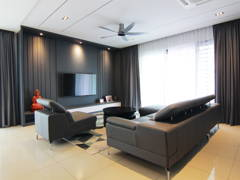 Contemporary Living Room@Ayu Residence