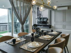 Classic Modern Dining Room@Armanee Terrace 2