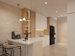 Contemporary Modern Kitchen@Eco Majestic