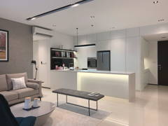 Minimalistic Modern Kitchen@Project Fennel