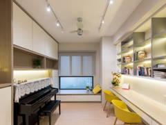 Minimalistic Family Room@Cozy Interior @ Five Stones