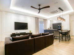 Asian Classic Living Room@Setia Alam Residence