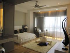 Modern Bedroom@Condominium @ Kiara Ville, Mont Kiara KL
