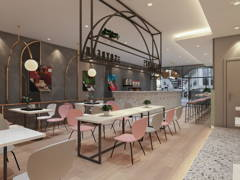 Contemporary Modern F&B@Colorful Shoplot @ Soy Bean SS2