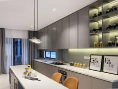 Classic Zen Kitchen@The Enclave Premium Semi Dee, jadehills