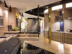 Contemporary Minimalistic Bathroom Kitchen@MAKE HISTORY YOUR MUSE- Beaufix Showroom, Kota Damansara