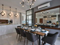 Contemporary Modern Kitchen Dining Room@MKH Kajang East