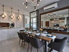 Contemporary Modern Kitchen Dining Room@MKH Kajang East