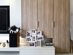 Minimalistic Modern Living Room@LAKE EDGE, PUCHONG