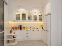 Country Vintage Kitchen@Eco Spring Residences