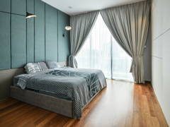 Contemporary Bedroom@Interior Renovation Project