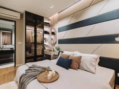 Contemporary Minimalistic Bedroom Study Room@Sunway velocity condo