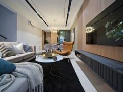 Contemporary Minimalistic Living Room@Fairfield 21
