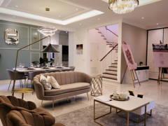 Classic Modern Dining Room Living Room@Setia Alam Sari Type B