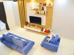 Minimalistic Living Room@Austin Residence, Mount Austin Johor Bahru