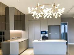 Contemporary Zen Dining Room Living Room@Pavilion Hilltop