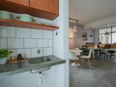 Retro Scandinavian Office@Matt Interior Design Office