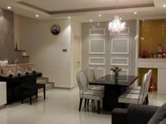 Classic Modern Dining Room@Bandar 16 Sierra