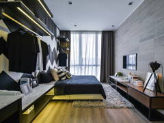 Contemporary Modern Bedroom@The Parque Eco Sanctuary