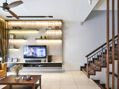 Modern Living Room@N'Dira Townhouse, Puchong South