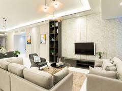 Modern Living Room@Setia V Residence Type 23A-02